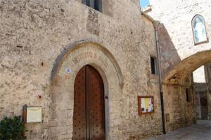 """San Rocco Entrance of the """"E. Majorana"""" Center"""