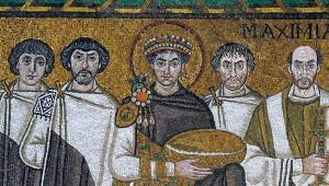 Mosaic in S. Vitale Basilica