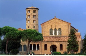 Sant'Apollinare in Classe Basilica (this image is courtesy of the Photographic Archive of the Ravenna Town Hall).